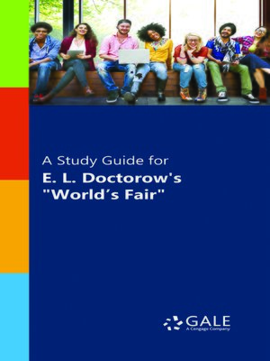 "cover image of A Study Guide for E. L. Doctorow's ""World's Fair"""