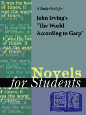 "cover image of A Study Guide for John Irving's ""The World According to Garp"""