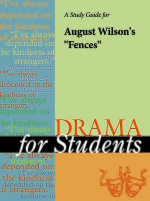 "cover image of A Study Guide for August Wilson's ""Fences"""