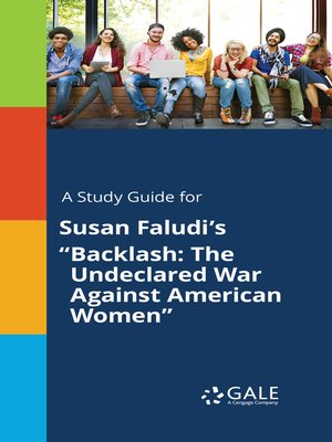 """cover image of A Study Guide for Susan Faludi's """"Backlash: The Undeclared War Against American Women"""""""