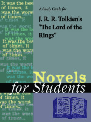 "cover image of A Study Guide for J.R.R. Tolkien's ""The Lord of the Rings"""