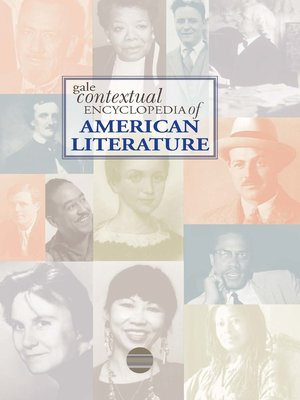 cover image of Gale Contextual Encyclopedia of American Literature