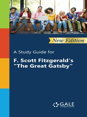 "cover image of A Study Guide for F. Scott Fitzgerald's ""The Great Gatsby"""