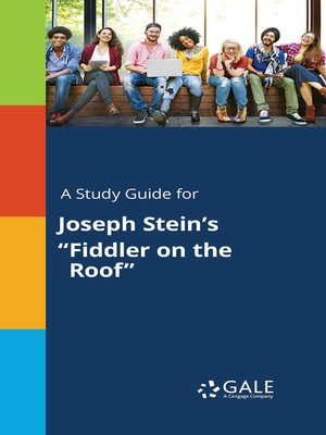 "cover image of A Study Guide for Joseph Stein's ""Fiddler on the Roof"""