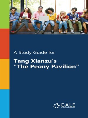 "cover image of A Study Guide for Tang Xianzu's ""The Peony Pavilion"""