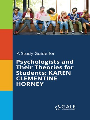 cover image of A Study Guide for Psychologists and Their Theories for Students: Karen Clementine Horney