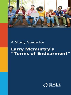 "cover image of A Study Guide for Larry McMurtry's ""Terms of Endearment"""