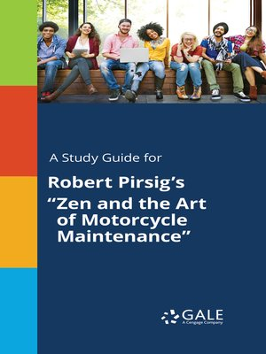 "cover image of A Study Guide for Robert Pirsig's ""Zen and the Art of Motorcycle Maintenance"""