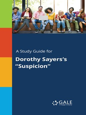 """cover image of A Study Guide for Dorothy Sayers's """"Suspicion"""""""