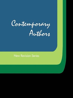 cover image of Contemporary Authors New Revision, Volume 299
