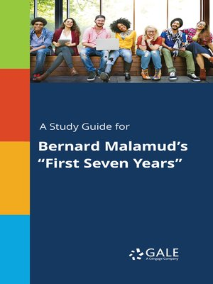 "cover image of A Study Guide for Bernard Malamud's ""First Seven Years"""