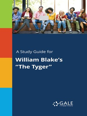 "cover image of A Study Guide for William Blake's ""The Tyger"""