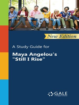 "cover image of A Study Guide for Maya Angelou's ""Still I Rise"""