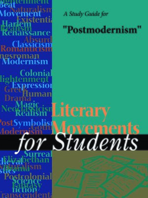 "cover image of A Study Guide for ""Postmodernism"""