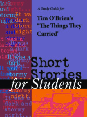 "cover image of A Study Guide for Tim O'Brien's ""Things They Carried"""