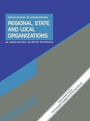 cover image of Encyclopedia of Associations: Regional, State and Local Organizations