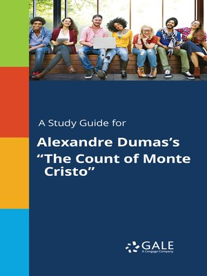 "cover image of A Study Guide for Alexandre Dumas's ""The Count of Monte Cristo"""