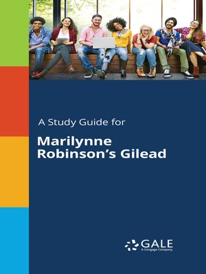 cover image of A Study Guide for Marilynne Robinson's Gilead
