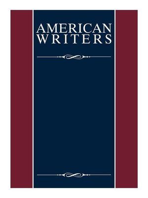 cover image of American Writers, Supplement XXVIII