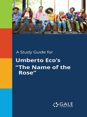 """cover image of A Study Guide for Umberto Eco's """"The Name of the Rose"""""""