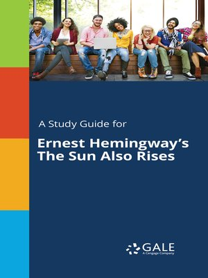 "cover image of A Study Guide for Ernest Hemingway's ""The Sun Also Rises"""