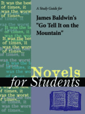 """cover image of A Study Guide for James Baldwin's """"Go Tell It on the Mountain"""""""