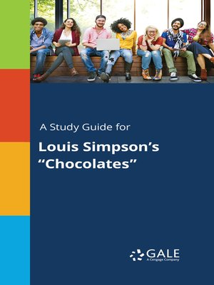 """cover image of A Study Guide for Louis Simpson's """"Chocolates"""""""