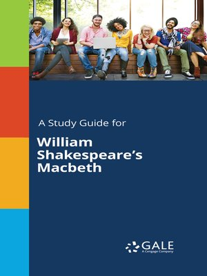 "cover image of A Study Guide for William Shakespeare's ""Macbeth"""