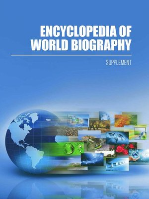 cover image of Encyclopedia of World Biography, 2017 Supplement