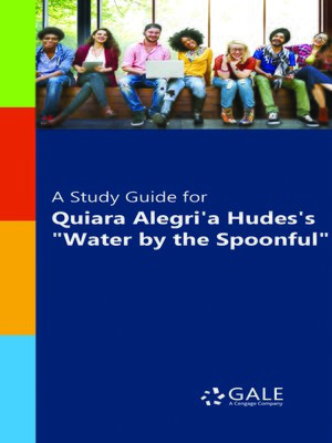 """cover image of A Study Guide for Quiara Alegria Hudes's """"Water by the Spoonful"""""""