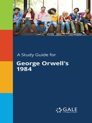 """cover image of A Study Guide for George Orwell's """"1984"""""""