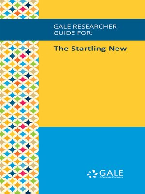 cover image of Gale Researcher Guide for: The Startling New