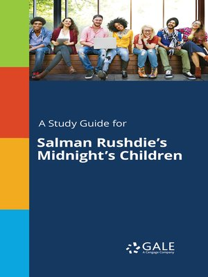 """cover image of A Study Guide for Salman Rushdie's """"Midnight's Children"""""""