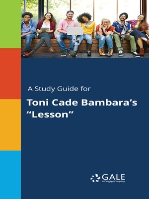 """cover image of A Study Guide for Toni Cade Bambara's """"Lesson"""""""