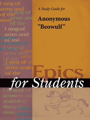 "cover image of A Study Guide for ""Beowulf"""