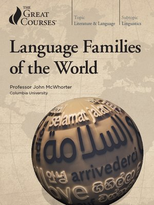cover image of Language Families of the World