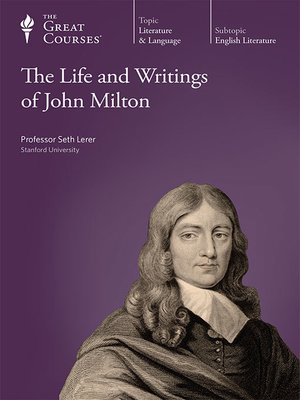 cover image of The Life and Writings of John Milton