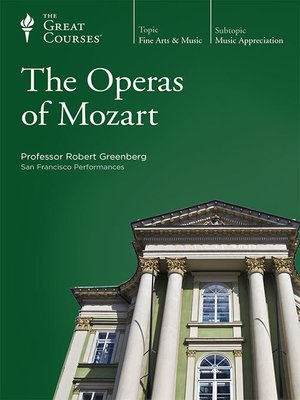 cover image of The Operas of Mozart