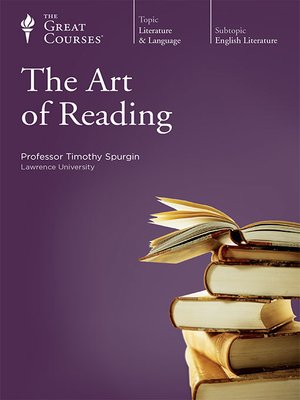 cover image of The Art of Reading
