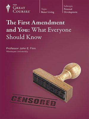cover image of The First Amendment and You