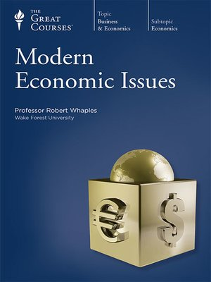 cover image of Modern Economic Issues