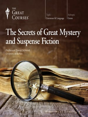 cover image of The Secrets of Great Mystery and Suspense Fiction