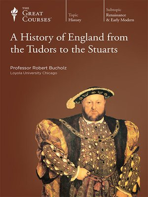 cover image of A History of England from the Tudors to the Stuarts