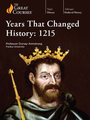 cover image of Years That Changed History: 1215