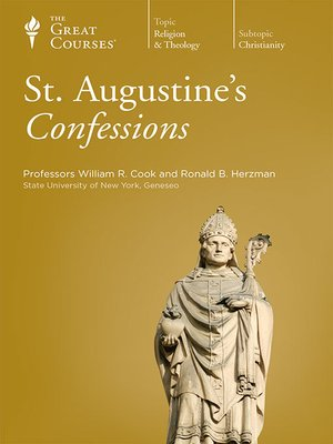 cover image of St. Augustine's Confessions