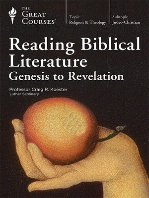 cover image of Reading Biblical Literature