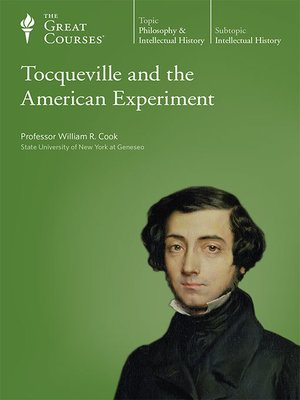 cover image of Tocqueville and the American Experiment