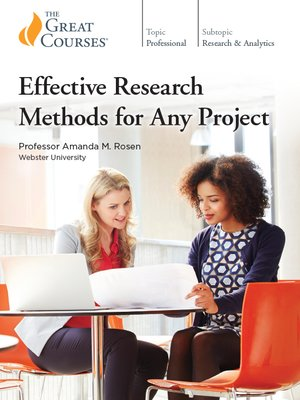 cover image of Effective Research Methods for Any Project