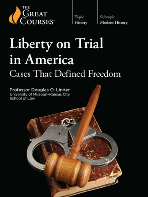 cover image of Liberty on Trial in America