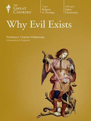 cover image of Why Evil Exists